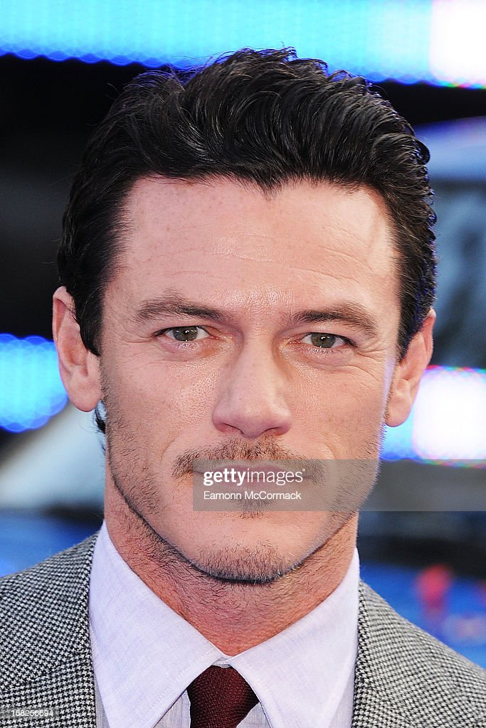 Luke Evans attends the World Premiere of 'Fast & Furious 6' at Empire Leicester Square on May 7, 2013 in London, England.