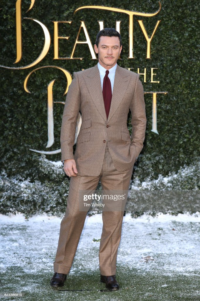 Luke Evans attends UK launch event for 'Beauty And The Beast' at Spencer House on February 23, 2017 in London, England.