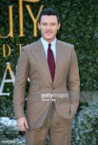 Luke Evans attends UK launch event for 'Beauty And The Beast' at Spencer House on February 23 2017 in London England
