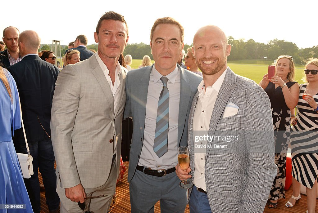 <a gi-track='captionPersonalityLinkClicked' href=/galleries/search?phrase=Luke+Evans+-+Actor&family=editorial&specificpeople=7174812 ng-click='$event.stopPropagation()'>Luke Evans</a>, <a gi-track='captionPersonalityLinkClicked' href=/galleries/search?phrase=James+Nesbitt&family=editorial&specificpeople=211175 ng-click='$event.stopPropagation()'>James Nesbitt</a> and Matt Dawson attend day one of the Audi Polo Challenge at Coworth Park on May 28, 2016 in London, England.
