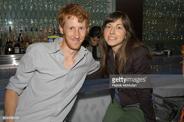 Luke Farinato and Joanna Prisco attend ECLIPSE and ZAGAT SURVEY 2006 'Dare to Dine Guide' Launch Party at Morimoto on August 15 2006 in New York City