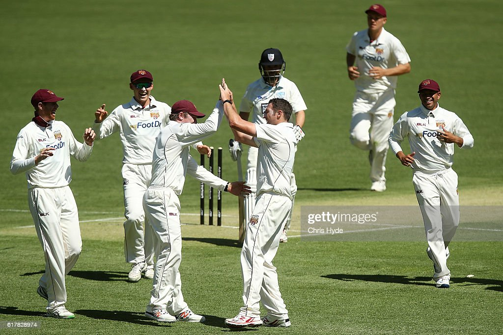 Sheffield Shield - QLD v NSW: Day 1