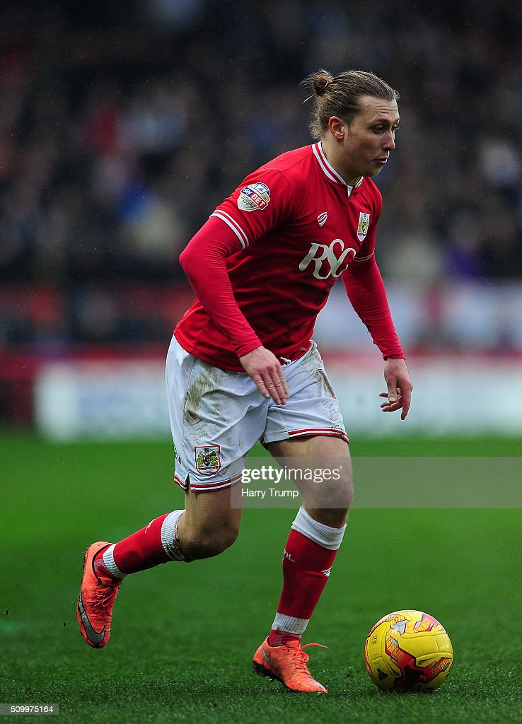 Luke Freeman of Bristol City during the Sky Bet Championship match between Bristol City and Ipswich Town at Ashton Gate on February 13, 2016 in Bristol, England.