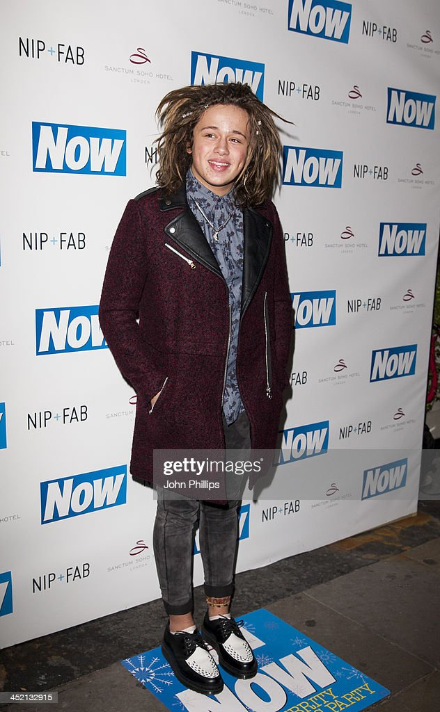 Luke Friend attends the Now Magazine Christmas party at Soho Sanctum Hotel on November 26, 2013 in London, England.