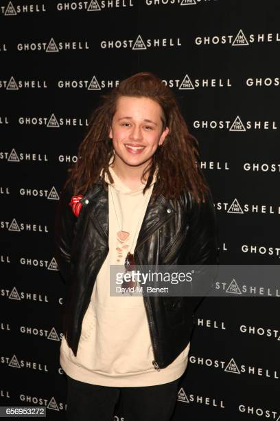 Luke Friend attends the UK Gala Screening of 'Ghost In The Shell' at The Ham Yard Hotel on March 23 2017 in London England