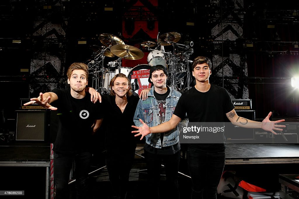 '5 Seconds of Summer' Sydney Photo Shoot