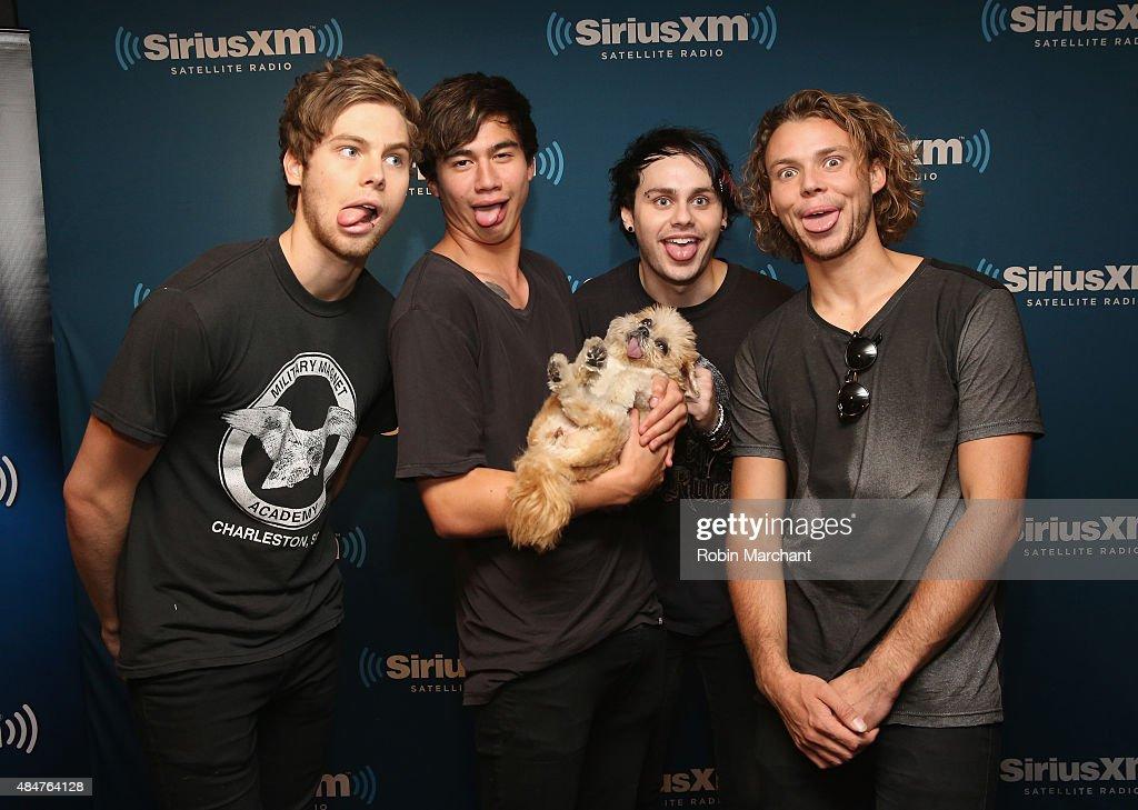 Celebrities Visit SiriusXM Studios - August 21, 2015 ...