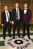 Luke Hemsworth Liam Hemsworth and Chris Hemsworth attend the 2014 Vanity Fair Oscar Party hosted by Graydon Carter on March 2 2014 in West Hollywood...