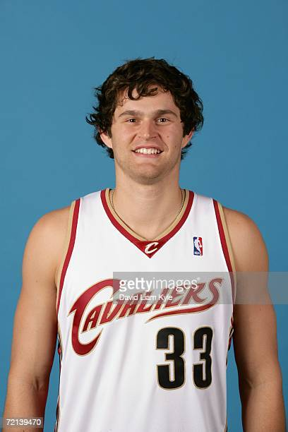 Luke Jackson of the Cleveland Cavaliers poses during NBA Media Day on October 2 2006 in Cleveland Ohio NOTE TO USER User expressly acknowledges and...