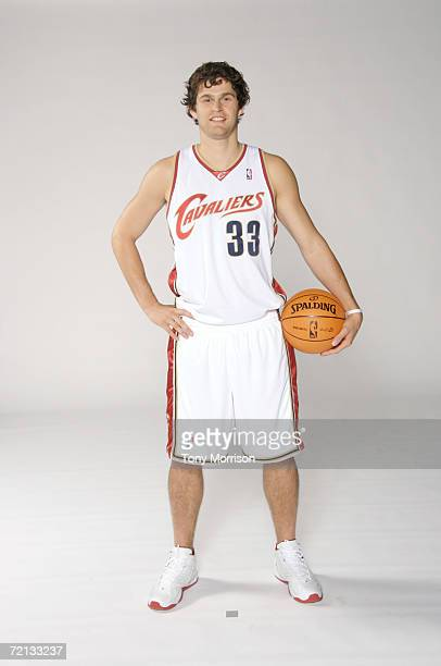 Luke Jackson of the Cleveland Cavaliers poses for a portrait during NBA Media Day on October 2 2006 in Cleveland Ohio NOTE TO USER User expressly...