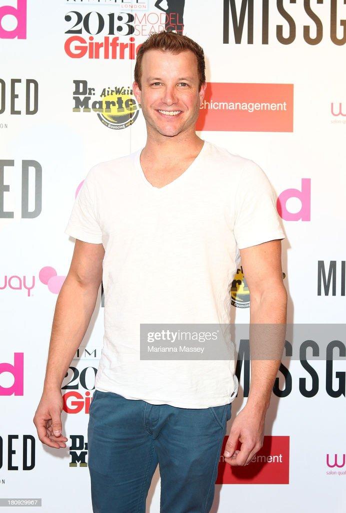Luke Jacobs at the Girlfriend Rimmel Model Search winner announcement event on September 18, 2013 in Sydney, Australia.