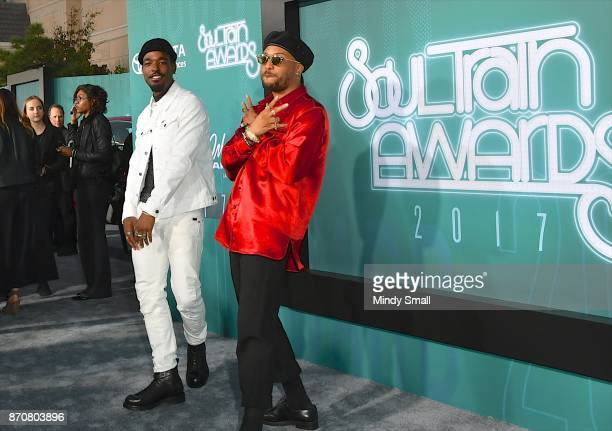 Luke James and Ro James attend the 2017 Soul Train Music Awards at the Orleans Arena on November 5 2017 in Las Vegas Nevada
