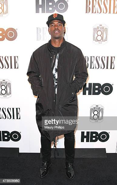Luke James arrives at the HBO Bessie 81 Tour in LA at The Millwick on May 14 2015 in Los Angeles California