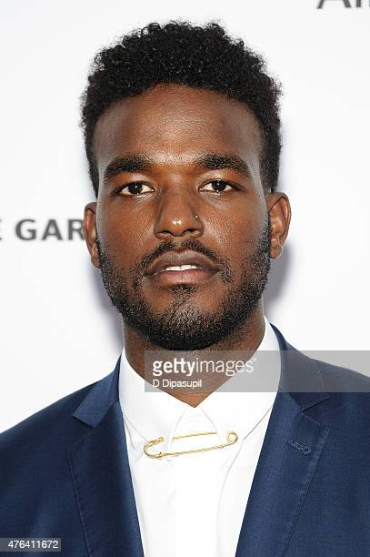 Luke James attends The Apollo Theater's 10th Annual Spring Gala at The Apollo Theater on June 8 2015 in New York City