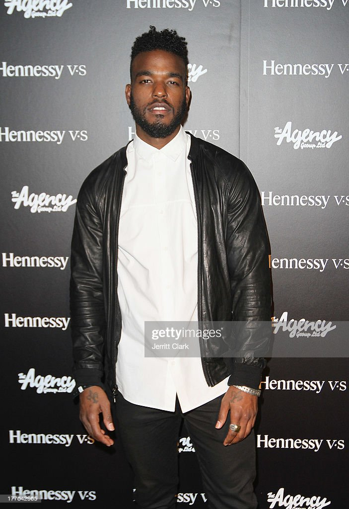 Luke James attends the Hennessy VS VMA Celebration at Avenue on August 24, 2013 in New York City.