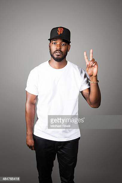 Luke James is photographed at the 2015 Essence Festival for Essence Magazine on July 3 2015 in New Orleans Louisiana