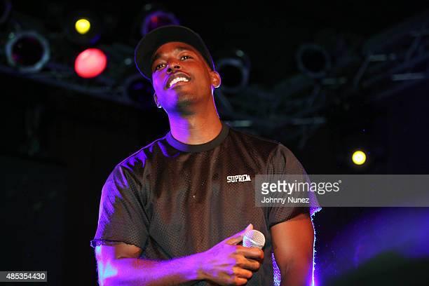 Luke James performs at Highline Ballroom on August 26 in New York City