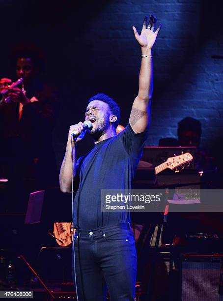 Luke James performs at The Apollo Theater's 10th Annual Spring Gala at The Apollo Theater on June 8 2015 in New York City