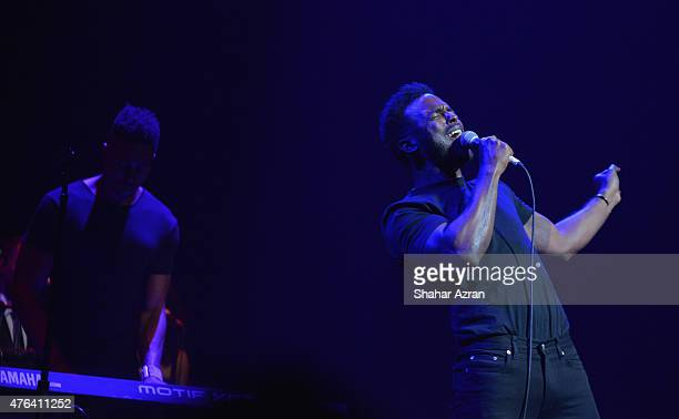 Luke James performs onstage during the 10th Annual Apollo Theater Spring Gala at The Apollo Theater on June 8 2015 in New York City