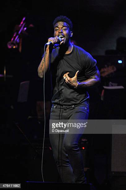 Luke James performs onstage during The Apollo Theater's 10th Annual Spring Gala at The Apollo Theater on June 8 2015 in New York City