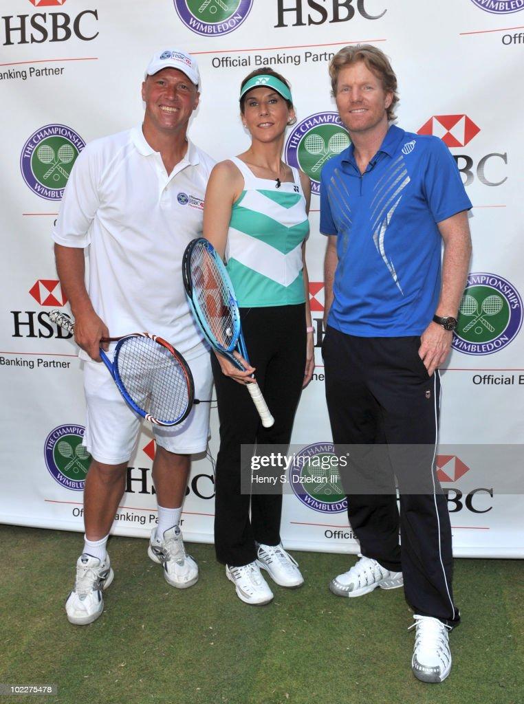 HSBC Presents Wimbledon 2010 At Rockefeller Center