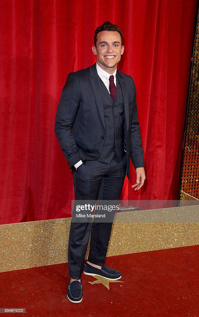 Luke Jerdy attends the British Soap Awards 2016 at Hackney Empire on May 28, 2016 in London, England.