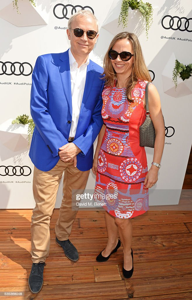 <a gi-track='captionPersonalityLinkClicked' href=/galleries/search?phrase=Luke+Johnson&family=editorial&specificpeople=218174 ng-click='$event.stopPropagation()'>Luke Johnson</a> (L) and wife Liza attend day two of the Audi Polo Challenge at Coworth Park on May 29, 2016 in London, England.