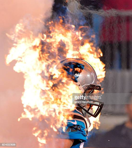 Luke Kuechly of the Carolina Panthers takes the field before their game against the New Orleans Saints at Bank of America Stadium on November 17 2016...