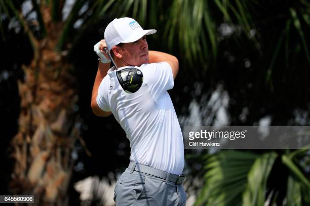 Luke List of the United States during the third round of The Honda Classic at PGA National Resort and Spa on February 25 2017 in Palm Beach Gardens...