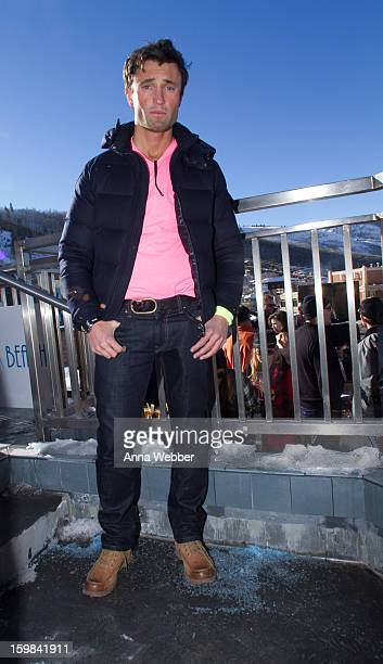 Luke Long Financial Reasearcher from Los Angeles wearing a Montclair jacket American Apparel shirt J Brand jeans and Ugg boots on January 20 2013 on...