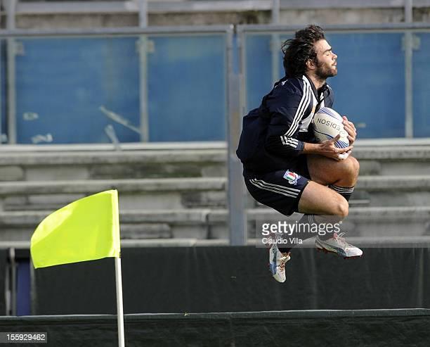 Luke McLean during Italy Captain's Run at Mario Rigamonti Stadium on November 9 2012 in Brescia Italy