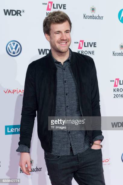 Luke Mockridge attend the 1Live Krone at Jahrhunderthalle on December 1 2016 in Bochum Germany