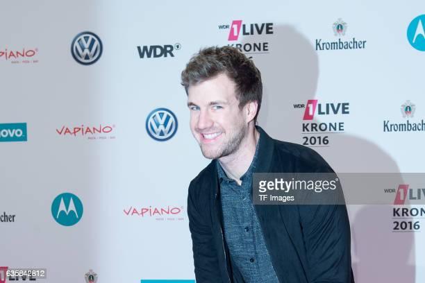 Luke Mockridge attends the 1Live Krone at Jahrhunderthalle on December 1 2016 in Bochum Germany