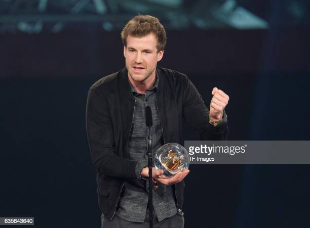 Luke Mockridge wins the 1Live Krone during the 1Live Krone at Jahrhunderthalle on December 1 2016 in Bochum Germany