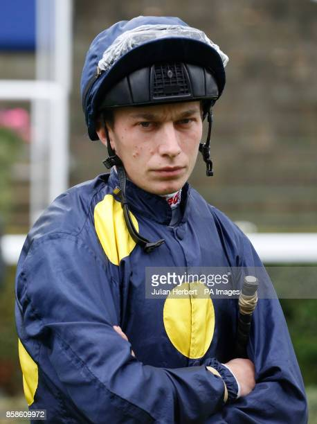 Luke Morris before ridding in The Hope and Homes For Childreen Rous Stakes run at Ascot Racecourse PRESS ASSOCIATION Photo Picture date Saturday...