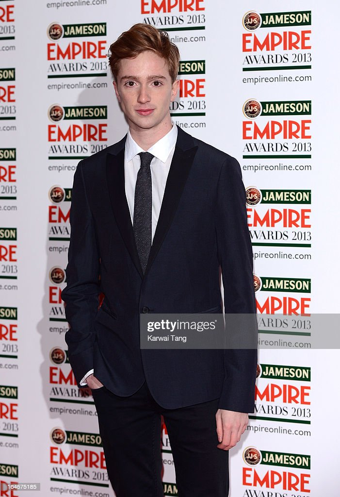 Luke Newberry attends the 18th Jameson Empire Film Awards at Grosvenor House, on March 24, 2013 in London, England.