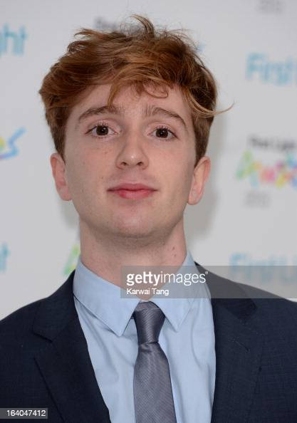 Luke Newberry attends the First Light Awards at Odeon Leicester Square on March 19 2013 in London England