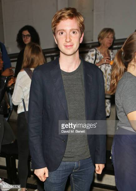 Luke Newbury attends the press night after party for 'Against' at The Almeida Theatre on August 18 2017 in London England