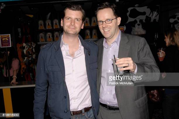 Luke Parker Bowles and Brendan Cahill attend LITERACY ASSOCIATES Second Annual Benefit for LITERACY PARTNERS at Carnival on April 27 2010 in New York...