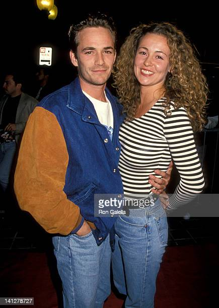 Luke Perry and Minnie Sharp at the Grand Opening of Planet Hollywood Planet Hollywood San Diego