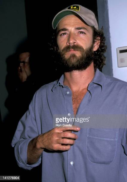 Luke Perry at the StarStudded KickOff Party for The Rock 'N' Road Rally Hosted by Astrella Leitch Jack Healey Pier 59 at Chelsea Pier New York City