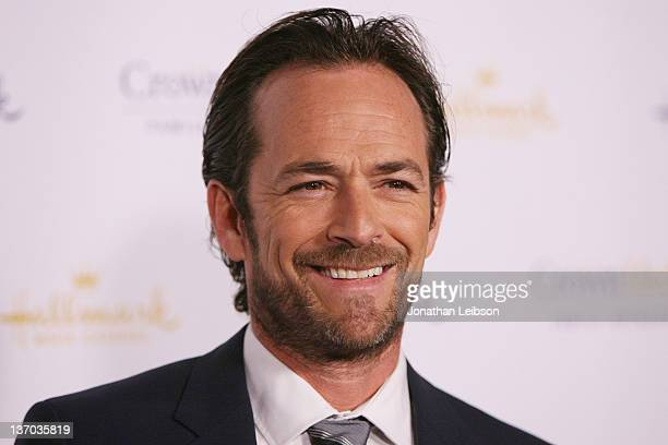 Luke Perry attends the 2012 TCA Winter Press Tour Hallmark Evening Gala at Tournament House on January 14 2012 in Pasadena California