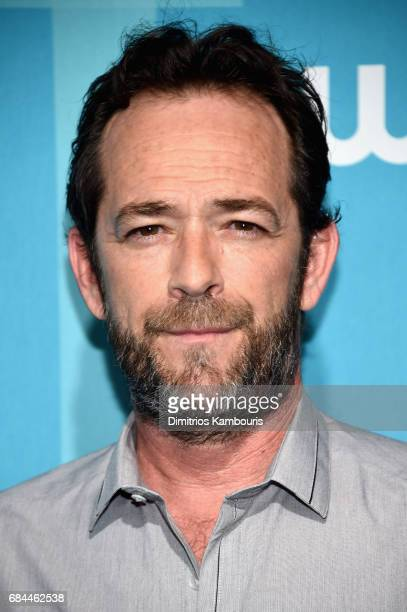 Luke Perry attends the 2017 CW Upfront on May 18 2017 in New York City