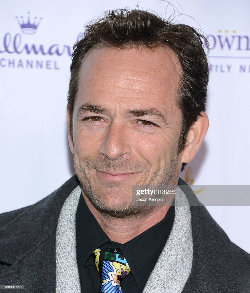 Luke Perry attends the Hallmark Channel and Hallmark Movie Channel's '2013 Winter TCA' Press Gala at The Huntington Library and Gardens on January 4, 2013 in San Marino, California.