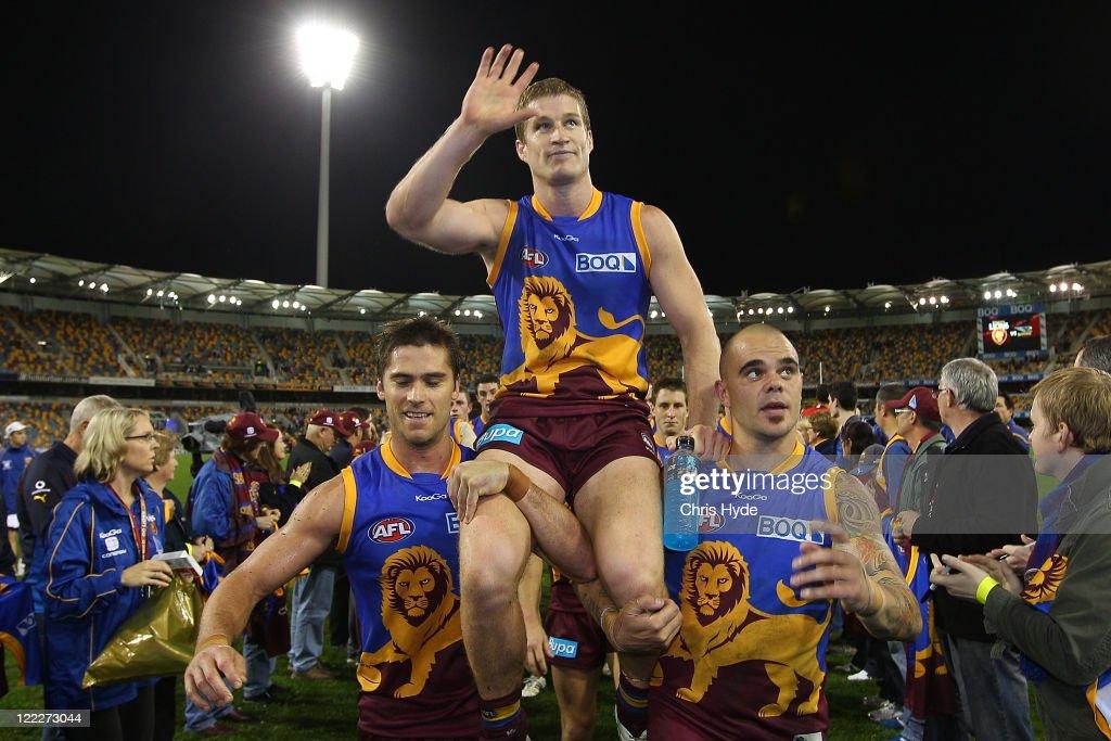 AFL Rd 23 - Brisbane v West Coast