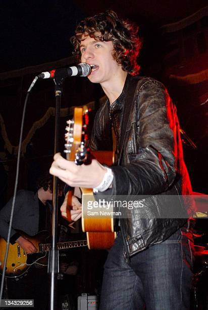 Luke Pritchard of The Kooks during The Great Escape – Day 3 in Brighton Great Britain