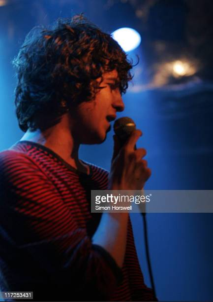 Luke Pritchard of The Kooks during The Kooks in Concert at Islington Academy in London March 27 2006 at Islington Academy in London Great Britain