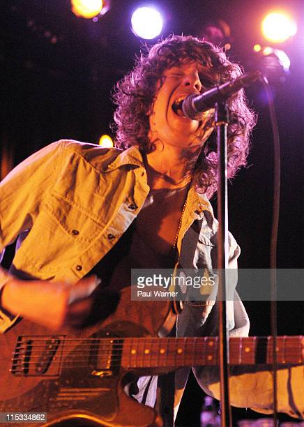 Luke Pritchard of The Kooks during The Kooks in Concert at Metro May 5 2007 at Metro in Chicago Illinois United States