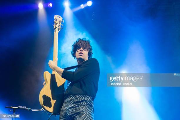 Luke Pritchard of The Kooks performs at Usher Hall on November 28 2017 in Edinburgh Scotland