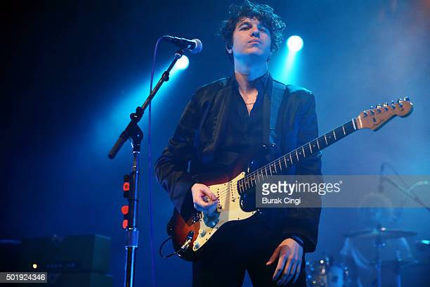 Luke Pritchard of The Kooks performs live at The Forum on December 18 2015 in London England